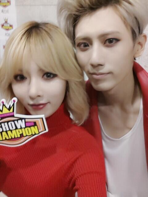 Trouble Maker (Music Box Version), Hyuna and Hyunseung